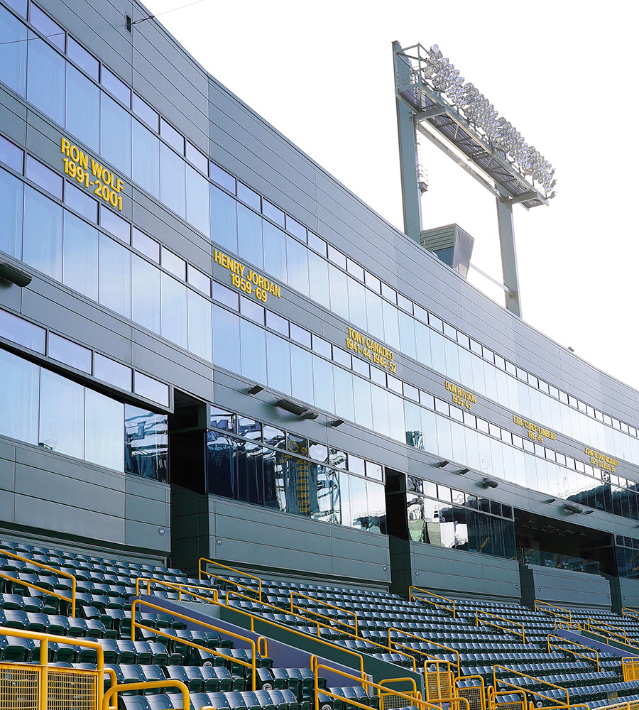 Lambeau Field Retired Numbers