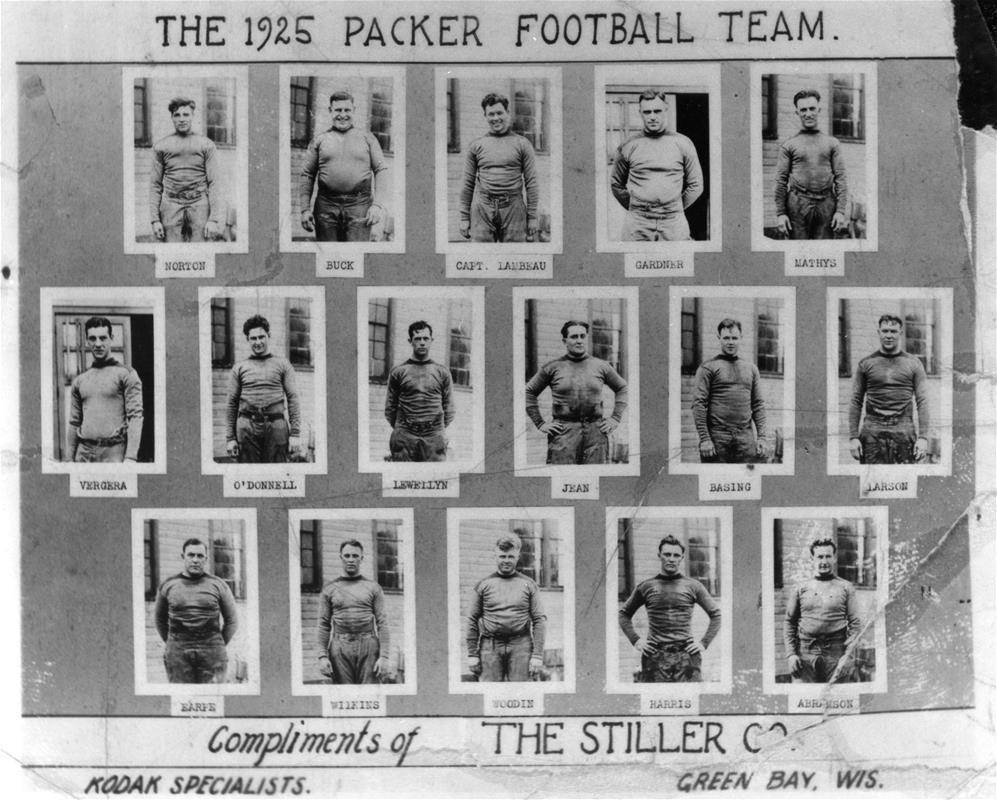 1925 Green Bay Packers team photo